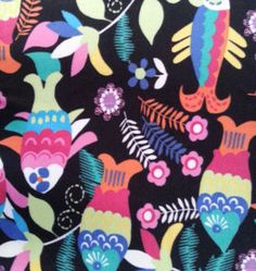 Micro Fleece Fabric-Bright Fish