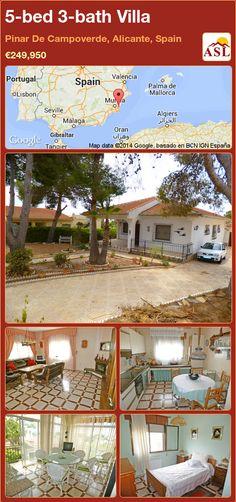 5-bed 3-bath Villa in Pinar De Campoverde, Alicante, Spain ►€249,950 #PropertyForSaleInSpain