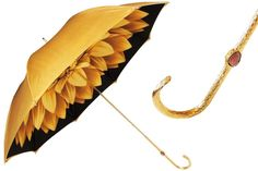 Yellow Pasotti Flower Umbrella - by Cris Figueired♥