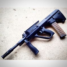 Steyr AUG M3 A1 -  ready for modsLoading that magazine is a pain! Excellent loader available for your handgun Get your Magazine speedloader today! http://www.amazon.com/shops/raeind