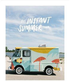 Madewell: Say hello to our ice cream truck (! Food Cart Design, Food Truck Design, Mobile Boutique, Mobile Shop, Food Trucks, Food Truck Menu, Surf Taco, Vehicle Signage, Vehicle Branding