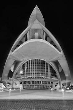 Space ship aka El Palau de les Arts Reina Sofia. Valencia, Spain by tibidabobcn, via Flickr