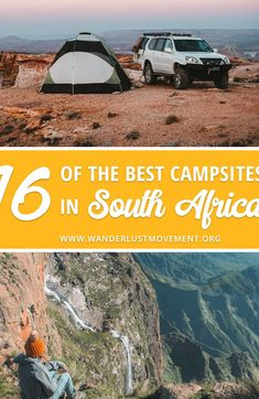 South Africa is home to some incredible cams You can spend a weekend camping in Kruger National Park surrounded by the imposing Drakensberg mountains or along the pristine West Coast Here are some of the best cam ideas to stoke your South Africa travel inspiration! Travel to South Africa South Africa Travel Tips South Africa Destinations #southafrica #travel #camping #campingideas #traveltips Africa Destinations, Travel Destinations, Travel Tips, Holiday Destinations, Budget Travel, Travel Guides, Travel Photographie, Camping Places, Camping Tips