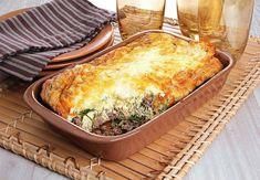 10 receitas de omelete de forno para um refeição prática Carne Picada, Lasagna, Quiche, Macaroni And Cheese, Breakfast, Ethnic Recipes, Easy Healthy Recipes, Tasty Food Recipes, Stuffing