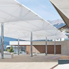 Double Canopy Umbrella - Type AV /  MDT-TEX