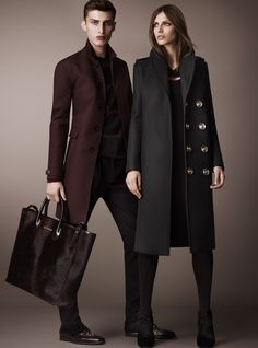 The Style Examiner: Burberry Prorsum Pre-Fall 2013 Collection