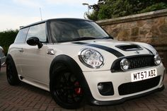 Lowered Mini Cooper S R56 with JCW Bodykit | Flickr - Photo Sharing!