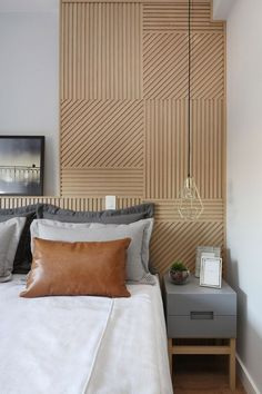 100 Modern Bedroom Design Inspiration The bedroom is the perfect place at home for relaxation and rejuvenation. While designing and styling your bedroom, Bedroom Design Inspiration, Modern Bedroom Design, Bedroom Designs, Bedroom Images, Modern Bedrooms, Estilo Interior, Room Interior, Elegant Home Decor, Bedroom Paint Colors