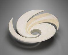 Virginia Dotson, Elements Series #12: Air, 1999. Poplar plywood with acrylic paint. Courtesy Yale University Art Gallery