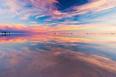 Le Salar d'Uyuni - le désert de sel de Bolivie : géologie et hexagones ~ Sweet Random Science