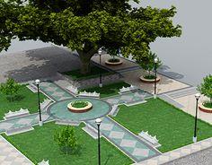 """Check out new work on my @Behance portfolio: """"Propuesta Remodelación de Jardín.""""…"""
