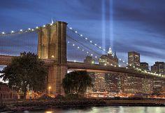 9/11 Memorial Lights, Sept 11,2010,#911,#September 11, 2001