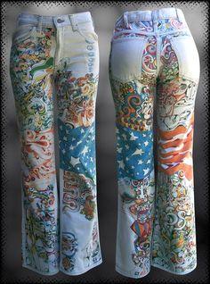 Artist Chris Lynch Wearable Art