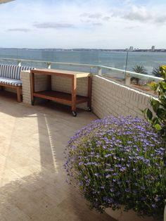 Terraço à beira mar | terrace by the sea | Creare Paisagismo | Punta del Este, Uruguai
