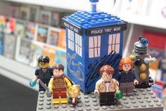 Art Dr. Who Legos! random-geeky-stuff