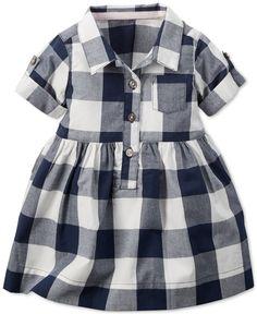 Baby Girl Stuff: Carter's Baby Girls' Checkered Shirt Dress - Kids ...