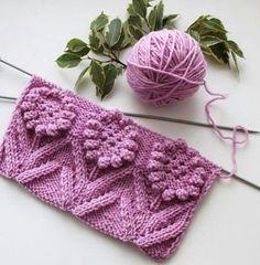 Knitting pattern and pattern - Knitting Crochet Two Color Knitting Patterns, Easy Knitting Patterns, Lace Knitting, Knitting Designs, Knitting Projects, Crochet Patterns, Crochet Stitches, Knit Crochet, Crochet Baby