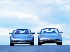 Porsche 911/996 + Boxster 986 front view