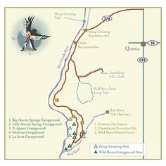Map of Wild Rivers Back Country Byway - New Mexico Tourism
