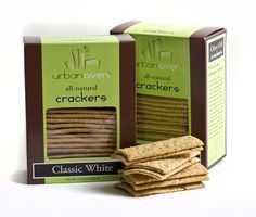 Urban Oven all natural crackers - we have these in several flavors (all delicious!) and they are wonderful with cheese