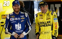 Dale Jr and Matt Kenseth