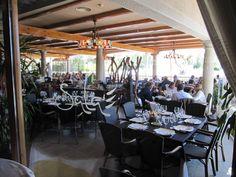 Sala (Guadarrama): si quieres comer unas estupendas gambas.Una terraza muy agradable