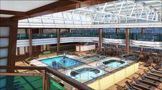 La nuova ammiraglia in casa Costa Crociere: la Costa Fascinosa. New cruise ship from Costa Cruises.