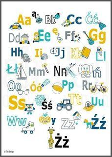 LASCHE JUNK: Alfabet po polsku Kids Room, Bullet Journal, Education, Illustration, Child's Room, Room Ideas, Printable, Room Kids, Child Room