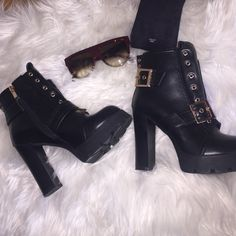 SEND OFFER Zip up booties! Black baldi zip up booties. Worn once indoors (Soo comfortable) and stylish! Love these Baldi Shoes Ankle Boots & Booties