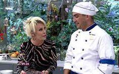 Ana Maria ensina André Marques a fazer arroz de micro-ondas