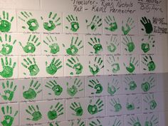 FFA GREENHAND Wall of Fame! really cool idea for star greenhand. Idea for you future ag educators!
