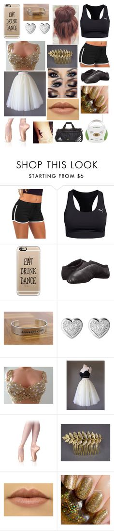 """""""Dance practice and performance outfits"""" by fandombeforeblood ❤ liked on Polyvore featuring Puma, Casetify, Bloch, Links of London and adidas Dance Shops, Links Of London, Casetify, Adidas, Polyvore, Outfits, Shopping, Suits, Kleding"""