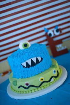 Monster Bash Monsters Diy Two Years Old Little Boys Birthday