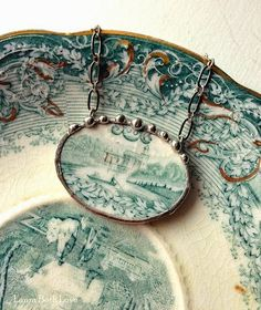 Dishfunctional Designs: New Broken China Jewelry In My Shop Tonight