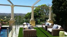 artificial grass Sydney, Grass, Pergola, Outdoor Structures, Patio, Outdoor Decor, Home Decor, Court Yard, Herb