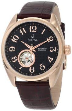 Relógio Bulova Men's 97A104 BVA Aperture dial Watch