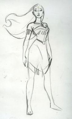 Pocahontas sketch by Steve Thompson
