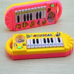 Yeni Faydalı Popüler 0-7 Yaşında Bebek Çocuk Piyano Müzik Gelişimsel Sevimli Oyuncak