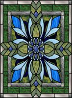 Custom Window Films and Privacy Stained Glass Window Films