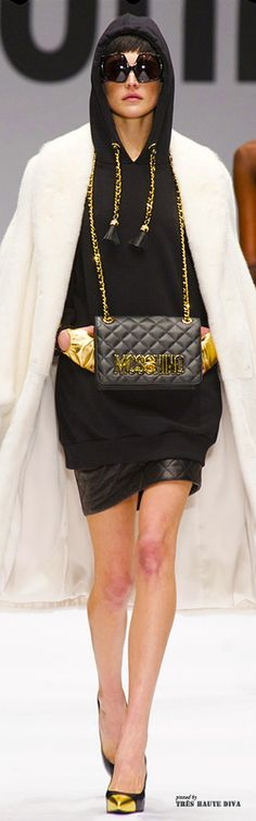 #Milan Fashion Week Moschino Fall/Winter 2014 RTW LBV