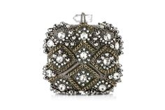 Rhinestone and link chain evening bag...sparkly!