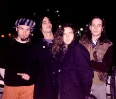 #PearlJam #JeffAment #EddieVedder  #StoneGossard Three Blue Steel's plus one goofy face. I am usually the one with the goofy face. Who IS that guy? Is it Mike? Doesn't look like Mike, unless Mike moonlights as some rubber-faced comedian.