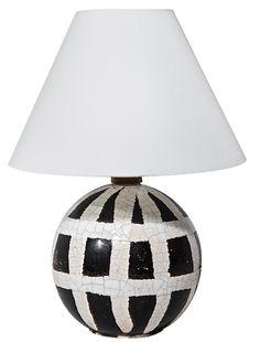 1928 Jean Basnard table lamp