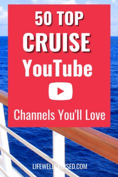 If you're planning a cruise, these YouTube channels are must-watches for cruise tips, cruise ship tours, cruise information and more! Top Cruise, Best Cruise, Cruise Port, Cruise Travel, Cruise Vacation, Disney Cruise, Sea Cruisers, Cruise Packing Tips, Cruise Reviews