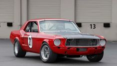 This 1967 Mustang Coupe is Built to Vintage Trans Am Specs - Hot Rod Sports Car Racing, Race Cars, Auto Racing, Mustang Restoration, Ford Mustang Shelby, Ford Mustangs, Vintage Mustang, Mustang Boss, Spa Design