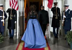 The President & First Lady Welcome French President Hollande  