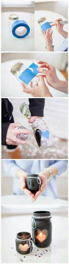 Amazing and Cute Jar Idea