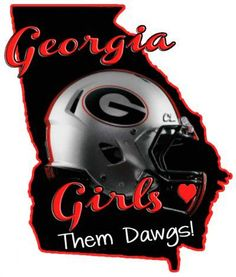 Georgia Girls <3 Them Dawgs!
