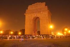 #India_gate - The India Gate, originally called the All India War Memorial, is a war memorial located astride the Rajpath,