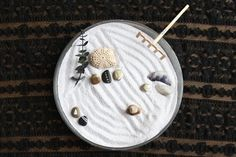 You can even try and create your very own calming space. 26 Zen Gardens To Help You Find Inner Peace At Work Indoor Zen Garden, Mini Zen Garden, Garden Art, Garden Ideas, Miniature Zen Garden, Indoor Gardening, Urban Gardening Berlin, Finding Inner Peace, Free People Blog
